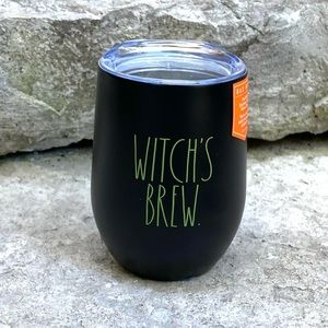 Rae Dunn WITCH'S BREW Insulated Wine Glass